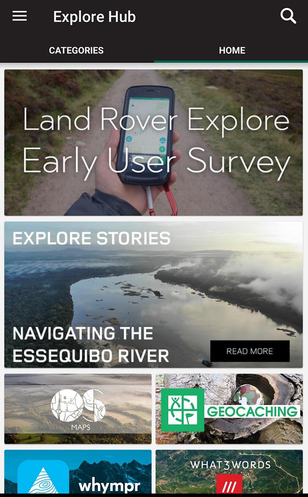 Explore Hub | Land Rover Explore