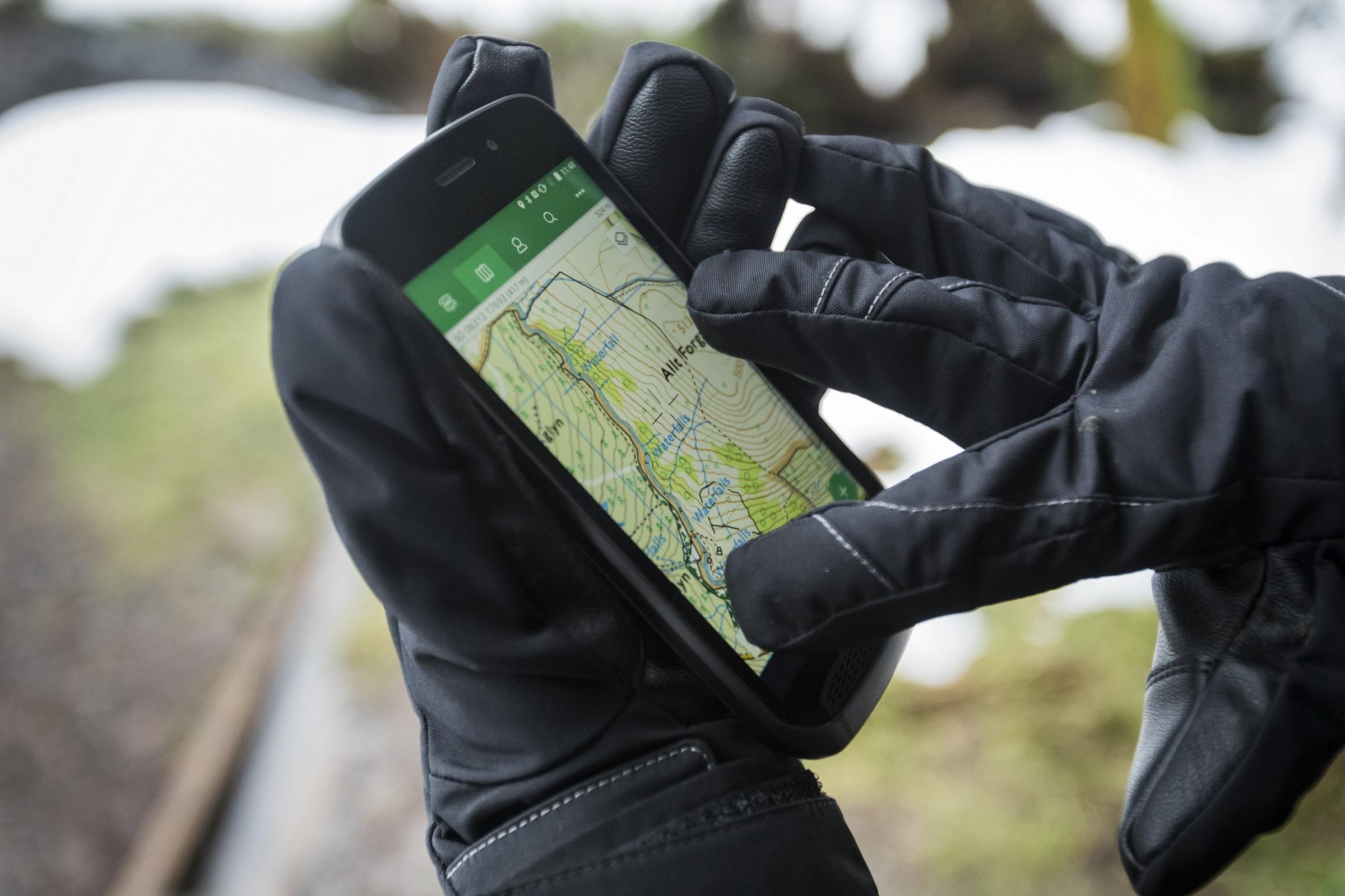 Handschuhmodus | Land Rover Explore