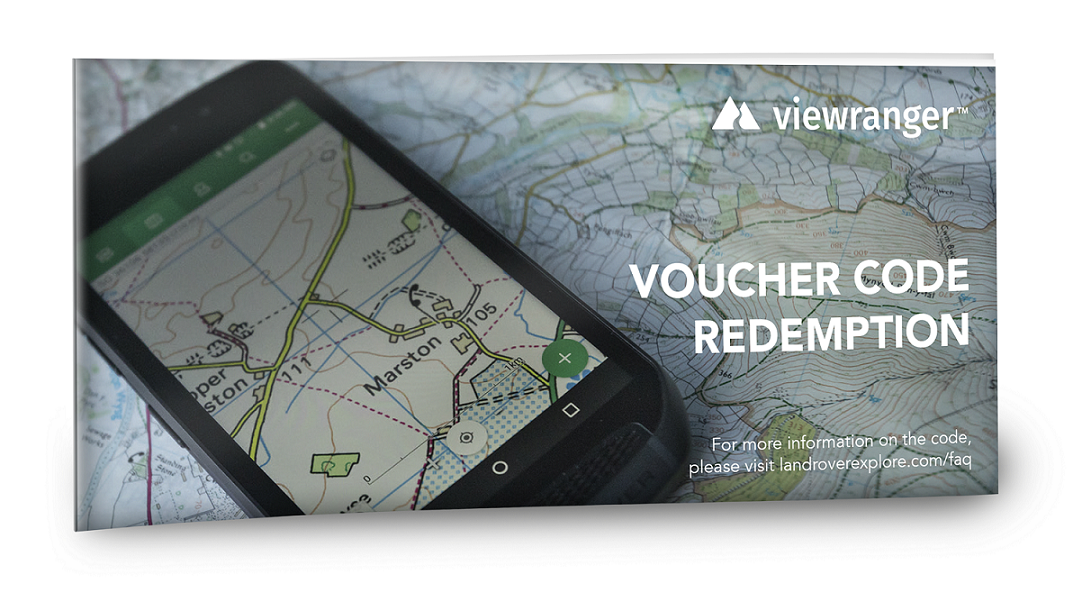 ViewRanger voucher | Land Rover Explore